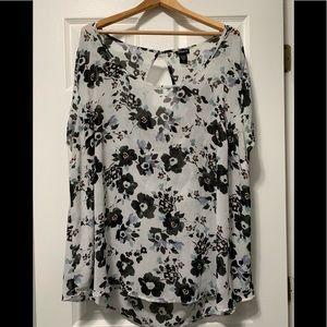 Torrid loose fit blouse
